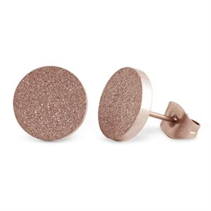 Picture of Rose Gold Diamond Dust Studs